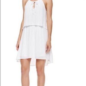Splendid White Halter Dress